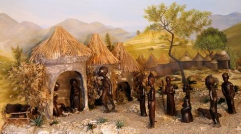 presepio africano 1